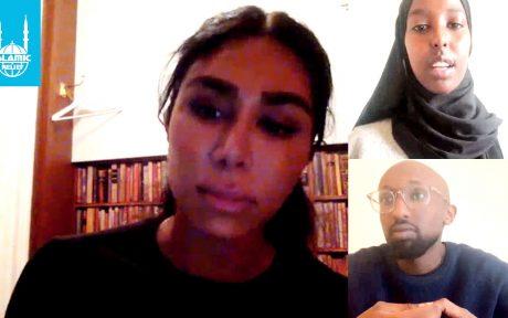 Melody Farshin, Ragia Abdullahi och Sakariya Hirsi