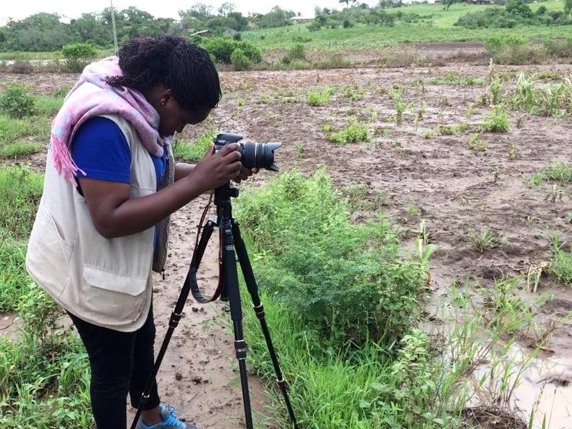 Gloria Nthenya Kivuva, medarbetare på Islamic Relief i Kenya