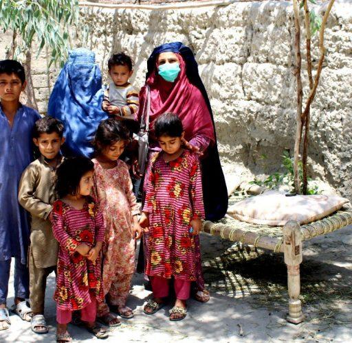 Familj i Nangarhar, Afghanistan