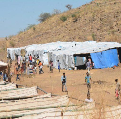 Flyktingar från Tigray i Etiopien har kommit till Sudan och får hjälp genom Islamic Relief.