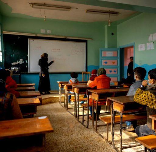 Skola i nordvästra Syrien