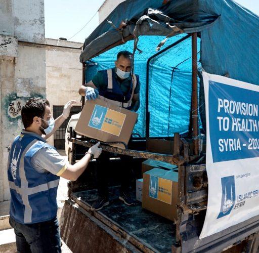 Sjuvkårdsinsatser i nordvästra Syrien